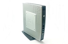 Thin Client T5740e Intel Atom 1.66 GHz 4 GB Flash 2 GB RAM WES7