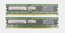 4 GB KIT PC2-3200 2Rx4 ECC Reg. ProLiant 375004-B21