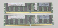 8 GB KIT PC2-5300 ECC Reg. ProLiant 408854-B21