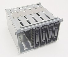 Drive Cage ProLiant ML350 G5 LFF 3.5 413986-001