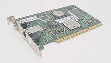 Combo Gigabit Ethernet / 2 GBit Fiber Channel PCI A9784BX