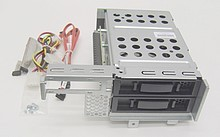 Drive Cage Kit ProLiant DL180 G6 2x LFF Rear 488234-B21